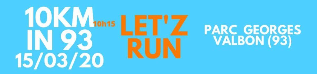 10 km Let'Z run in 93